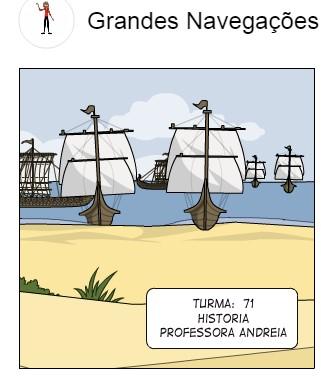 Estudando as Grandes Navegações de forma divertida