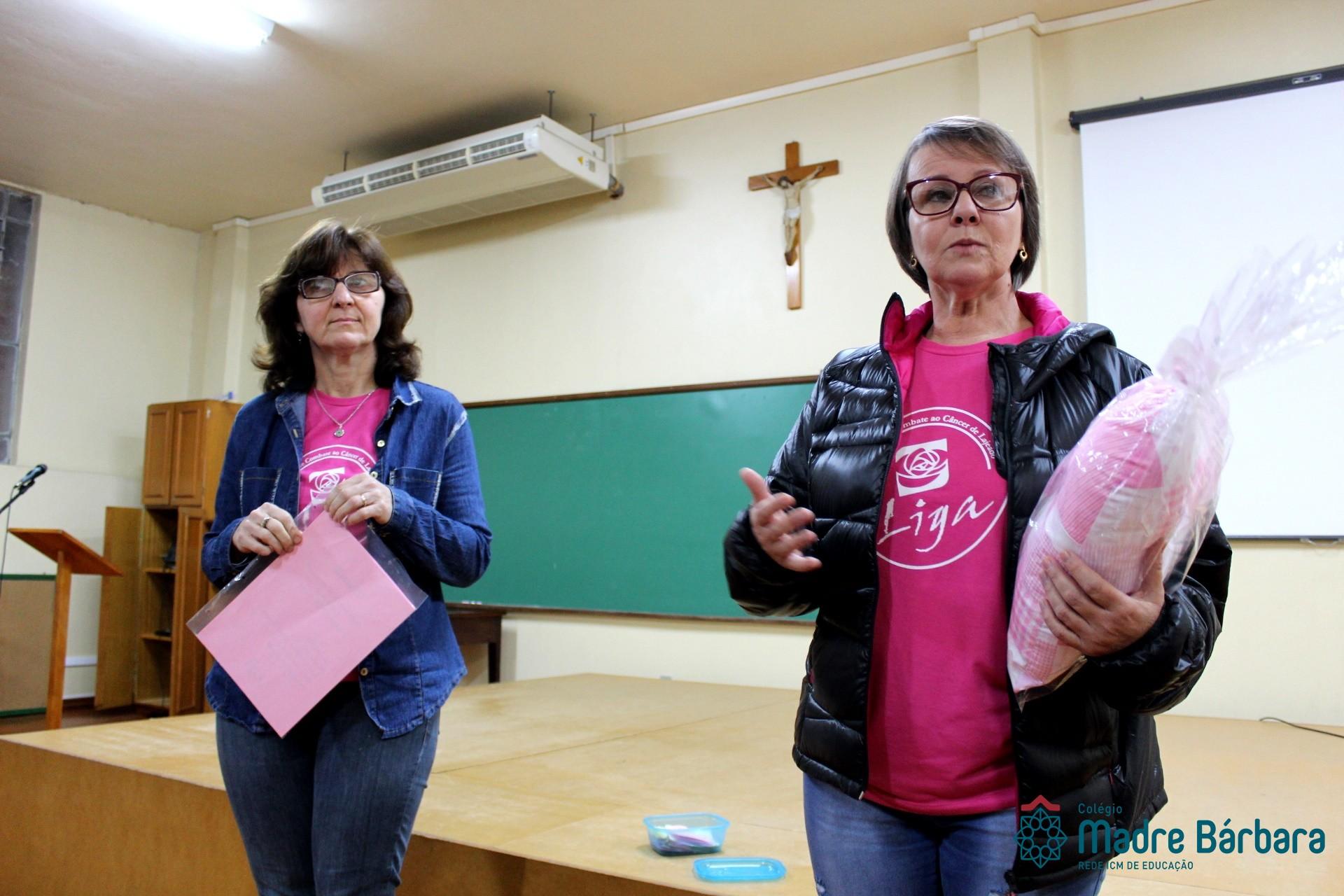 Visita Liga Feminina de Combate ao Câncer