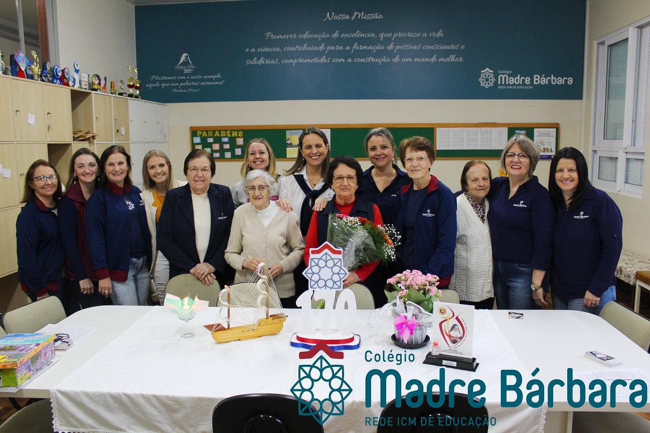 170 anos Congregação das Irmãs do Imaculado Coração de Maria