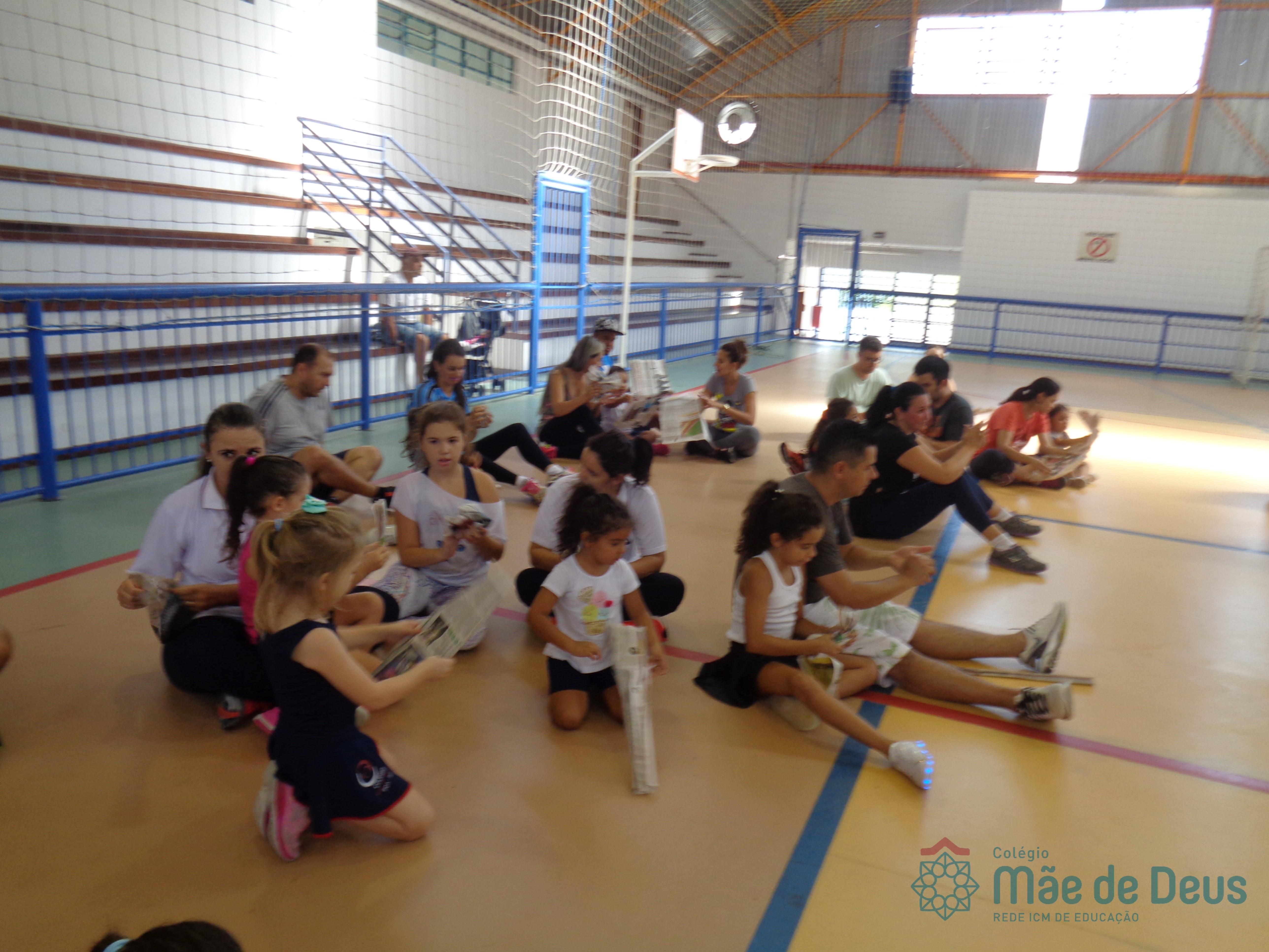 Sábado recreativo com a Educação Infantil