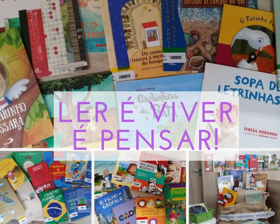 Novos livros esperam por você!