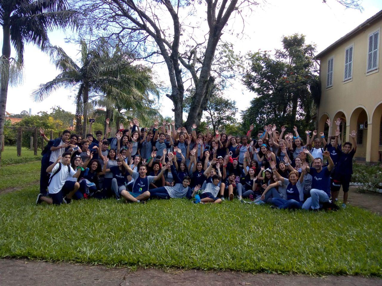 8º ano visita Casa da Juventude