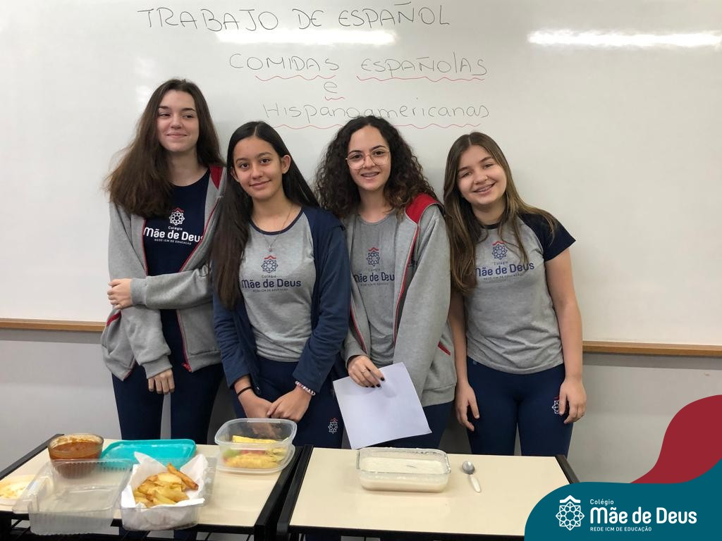 Trabajo de comidas españolas e hispanoamericanas
