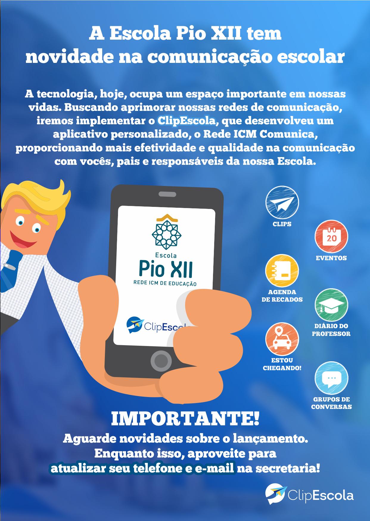 ClipEscola – Clique e saiba como receber informações da Escola no seu telefone …