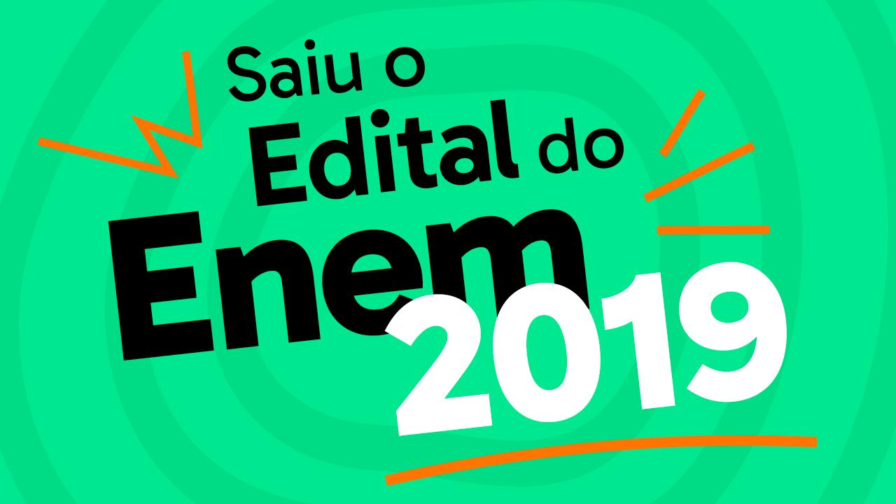 ENEM 2019 – Clique e confira …