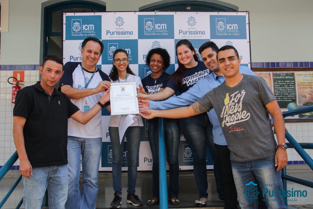 Colégio recebe Moção de Aplausos pelo legislativo da cidade