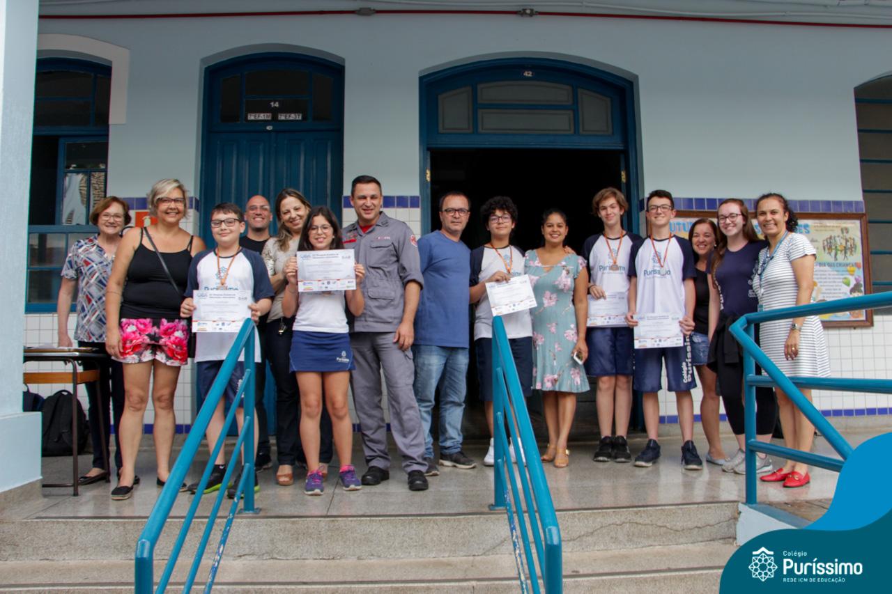 Colégio Puríssimo conquista 26Medalhasna  Olimpíada Brasileira de Astronomia –OBA/2019