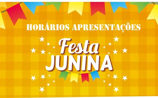 Horários da Festa Junina