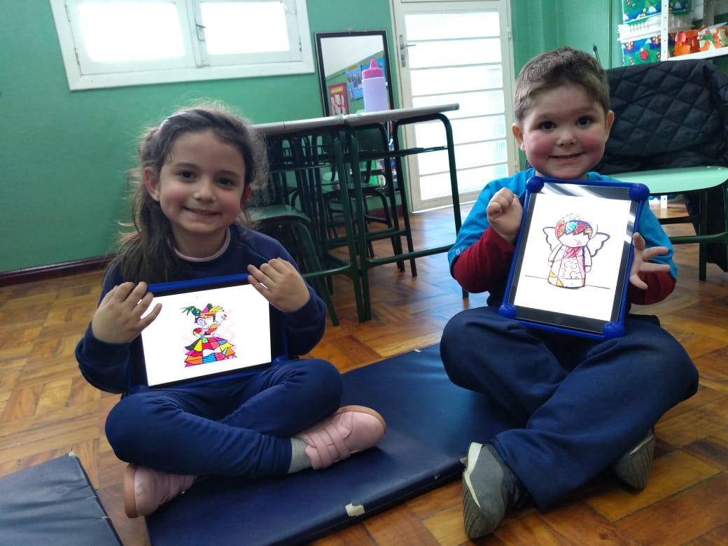 N2 utiliza iPads para conhecer Romero Britto