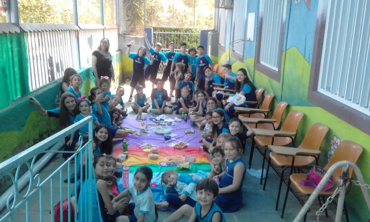 Revitalização da pracinha da Educação Infantil