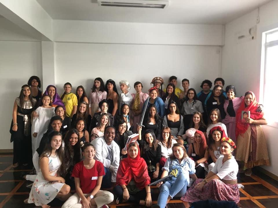 Alunos do 3º ano do Ens. Médio elaboraram projeto de conscientização sobre o dia Internacional da Mulher