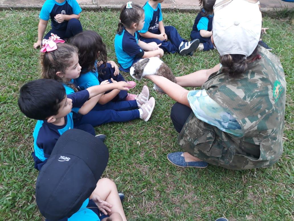 Saída da Educação Infantil para a Quinta da Estância Grande