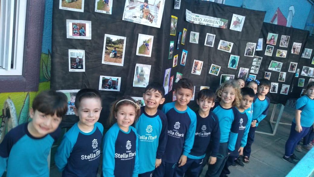 Educação Infantil desenvolve projeto de preservação do Meio Ambiente