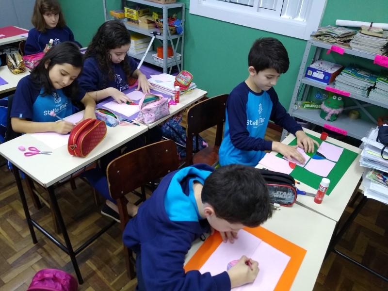 """Turma 41 trabalhando matemática, aprendendo sobre os diferentes tipos de """"ÂNGULOS"""" ."""