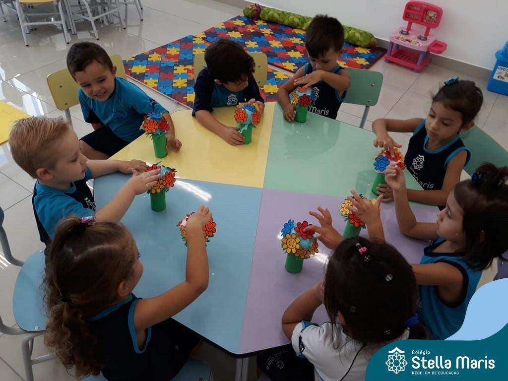 Homenagem da Educação Infantil para as Mulheres