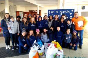 Colégio Madre Bárbara Campanha Solidária Julho de 2019
