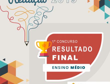 Concurso de Redação Rede ICM Ensino Médio 2019