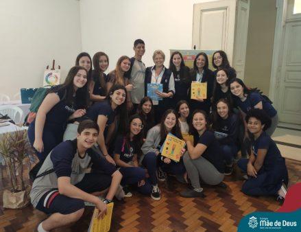 Colégio Mãe de Deus lançamento livro feira do livro 2019 (14)