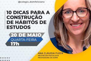 Live Colégio Dom Feliciano Habitos de Estudo