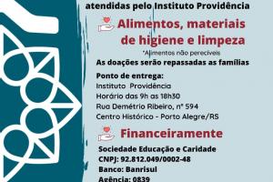 Campanha Solidária – Instituto Providência Junho