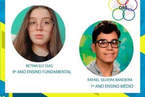 colégio dom feliciano Olimpíada Brasileira de Física