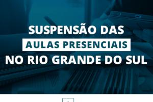 REDE ICM – COVID-19 – COMUNICADO – SUSPENSAO DAS AULAS RS