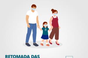 card-retomada-aulas Rio Grande do Sul